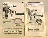 ECM Brühgruppenreiniger, Gruppenreiniger für Espressomaschinen 10 Tüten zu 20 g