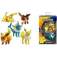 Pokemon XL MULTIPACK / heldenset O Figura de acción/FIGURAS COLECCIONABLES evoli ,Pikachu,