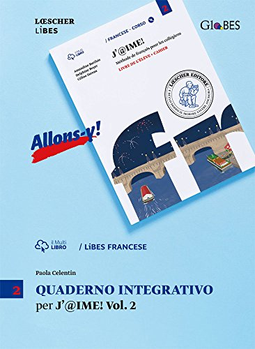 J'@ime. Quaderno integrativo. Per la Scuola media. Con e-book. Con espansione online: 2