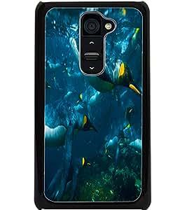 ColourCraft Cute Penguins Design Back Case Cover for LG G2