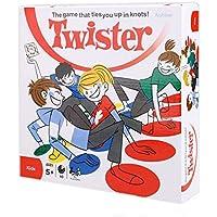 TourKing Twister Game Juego de Suelo de Tablero de Deporte al Aire Libre Juguete de Regalo Funny Kids Family Body Moves
