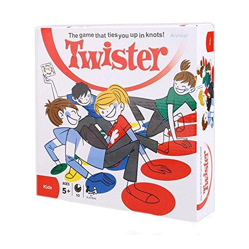 TourKing Twister Game Juego de suelo de tablero de deporte al aire lib