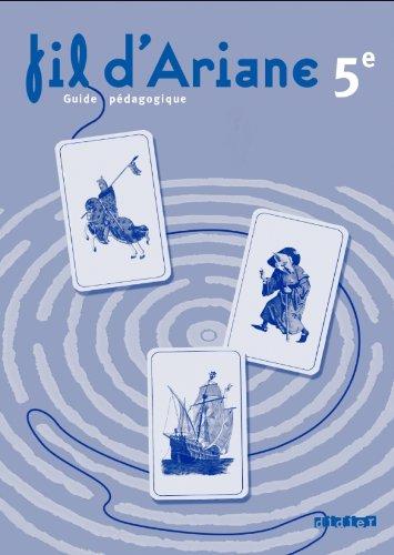 Fil d'Ariane 5e - Guide pédagogique - version papier