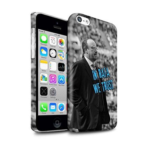 Offiziell Newcastle United FC Hülle / Glanz Snap-On Case für Apple iPhone 5C / Pack 8pcs Muster / NUFC Rafa Benítez Kollektion Wir Vertrauen