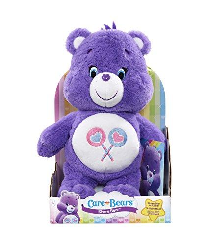 Preisvergleich Produktbild Care Bears / Glücksbärchi Teile-Gern-Bärchi mit DVD (Englische und Französische Sprache)