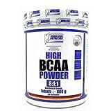 BCAA Pulver 800g hochdosiert 8:1:1 (Aminosäuren) | Aminos: (Leucin, Isoleucin, Valin) BCAAs Powder Orange
