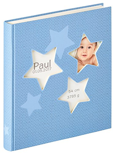walther design UK-133-L Babyalbum Estrella, blau, 28x30,5 cm