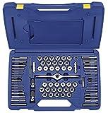 """Irwin Hanson máquina/fraccional/métrico Plug Tap y 1""""hexagonal juego de plantillas, 75piezas, 1813816"""