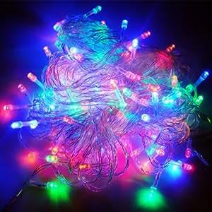 320 led luci mini lucciole luce albero di natale presepe for Luci led colorate