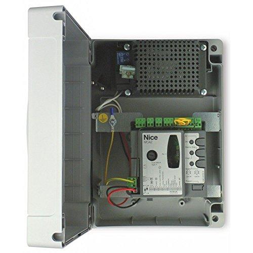 NICE MOONCLEVER MC424L Centrale di comando per automazione 24V cancello battente