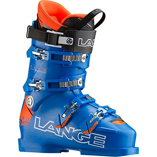 LANGE - Scarponi sci Lange Rs 130 - blu-arancio fluo, 28.5