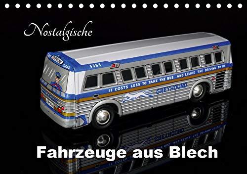 Nostalgische Fahrzeuge aus Blech (Tischkalender 2020 DIN A5 quer): Sammlermodelle im Bild (Monatskalender, 14 Seiten ) (CALVENDO Hobbys)