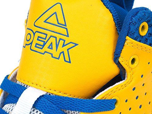 Peak - Thunder gold blue - Chaussures basket Yellow / Blue