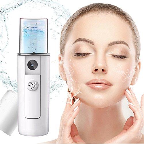 Gesicht Luftbefeuchter, Gesichtssauna Dampf, Tiefreinigung der Gesichtsporen Nano Ionic Kühlen Nebel Gesichts dampf Feuchtigkeitsspend Entfernt Mitesser Hautpflege Gesichtspflege Porenrei