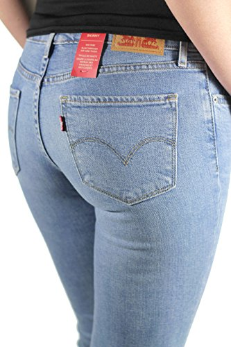 Levis - Levis - Jeans femme 711 RUGGED WINDS Bleu
