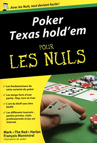 Poker Texas Hold'em Poche Pour les Nuls (French Edition)