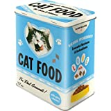 Nostalgic-Art 30143 Animal Club - Cat Food - Love Mix, Vorratsdose L