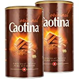 Caotina original, Cacao en Polvo de Chocolate Suizo, Bebida de Chocolate Caliente, Pack Doble, 2 x 500 g