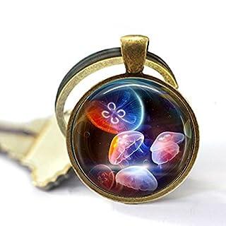 aaaAA Schlüsselanhänger mit Gelee, Regenbogenfarben