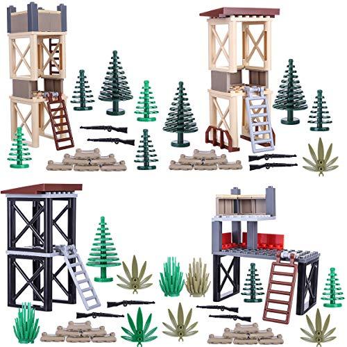 Spieland Custom Battle Szene Set für Lego Mini Figuren Militär Soldaten SWAT - Set Militär Lego