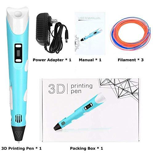 StillCool 3D-Zeichnung Druck 3D Stift gifts LCD-Display for kids & adults Zeichnung und Kunst & handgefertigte Werke Doodle Puzzle Spielzeug - 8