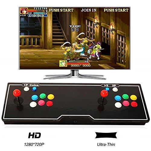 MEANS Game Joystick Spielkonsole Pandora's Box 5S HD 999 in 1 Home Arcade Konsole (Machine Tetris Arcade)
