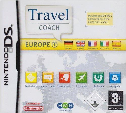 Preisvergleich Produktbild Travel Coach Europe 1,  Nintendo DS-Spiel Ihr Sprachtrainer für einen schönen Urlaub