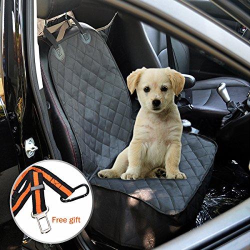 Accessori-Cane-Auto-FOCUSPET-Copertura-Anteriore-Sedile-Auto-per-Cani-Impermeabile-Sicurezza-Regolabile-con-Cintura-di-sicurezza-per-Tutte-le-Automobili-e-SUV