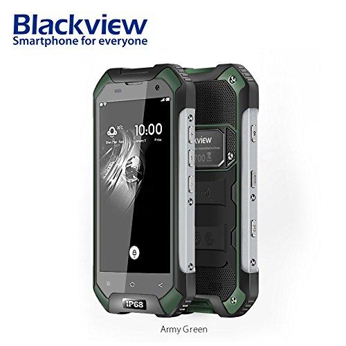 bulary Blackview bv6000s Smartphone IP68étanche MT6735Quad-Core 4200mAh 2Go RAM 13MP 16Go ROM 4,7pouces Android 6.04G Téléphone