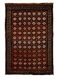 Solo Rugs Balouch Asaro Teppich, handgeknotet, 122 x 183 cm, Kastanienbraun