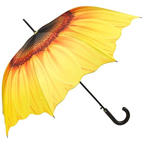 VON LILIENFELD Parapluie Automatique Femme Mode desig à motif floral Tournesol