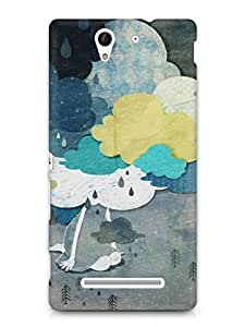 Nukkads 3D Designer Printed Back Cover for Sony Xperia C3 (D2533)