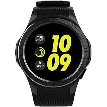Docooler Microwear L1 Smartwatch 2G Teléfono GSM reloj 1.3 Pulgadas Redondo HD IPS Pantalla Bluetooth Monitor