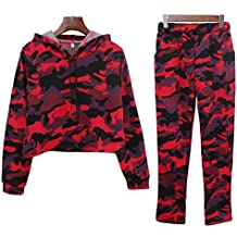 8a71f9af96 Amazon.it: Pantaloni Tuta Rossa - YiLianDa