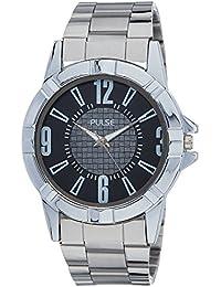 Pulse Analog Black Dial Men's Watch - PL0402