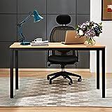 Need Bureau 140x60cm d'ordinateur Table Informatique Meuble de bureau pour Ordinateur Secrétaires Postes de travail informatiques Tables de conférence, Teck Chêne Couleur