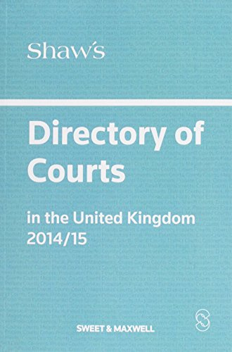 shaws-directory-of-courts-in-the-united-kingdom-2014-15