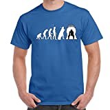 Best Funniest Shirts - Mens Funny Printed T Shirts-Iron Throne Evolution Game Review