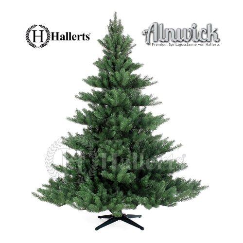 """REDUZIERT: Künstlicher Weihnachtsbaum Spritzguss PREMIUM """"Nordmanntanne"""" 180 cm Kunsttanne Spritzgusstanne künstlicher Weihnachtsbaum Alnwick Hallerts Plastip"""