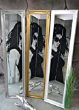 Livitat® Standspiegel Ankleidespiegel antik barock 160 x 40 cm NO (Gold)