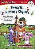 Baby Genius Favorite Nursery Rhymes w/bonus Music CD by Artist Not Provided