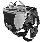 Lefu Pet Satteltasche Small Medium Large Hund Einstellbare Harness Carrier Rucksack Kleine Mittelgroße Haustier Outdoor Travel Training Camping Wandern S/M/L