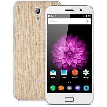 "Lenovo ZUK Z1 4G Smartphone -- 5.5"" IPS FHD Fingerprint ID Android 5.1 Quad Cores 2.5GHz RAM 3GB+64GB ROM Dual SIM, 8M+13MP Camera, WiFi OTG GPS (Oak)"