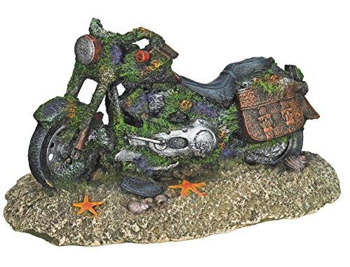 """Nobby 28499 Aqua Ornaments """"Motorrad"""", 19.5 x 11 x 10.5 cm"""