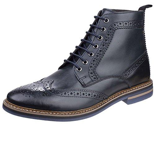 Base London Mens Hurst Leather Boots