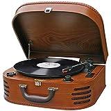 Roadstar TTR-635WD - Tocadiscos Vintage (FM, AUX IN, Amplificador y...