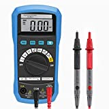 Homgrace Multimeter Auto Ranging Tester Buzzer Capacitance Resistance DC AC Voltage Current Transistor Diodes Multi-function Measuring Digital Multimeter