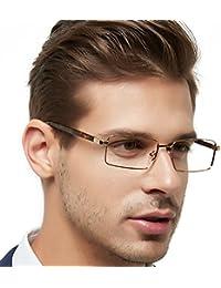 OCCI CHIARI Gafas de hombre marco Montura de gafas Marco óptico de los gafas El marco