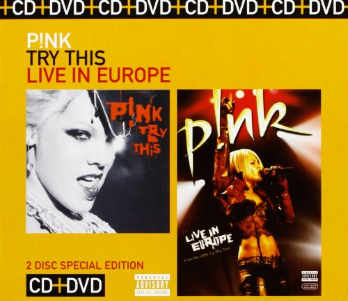 Try This/P!Nk:Live in Europe