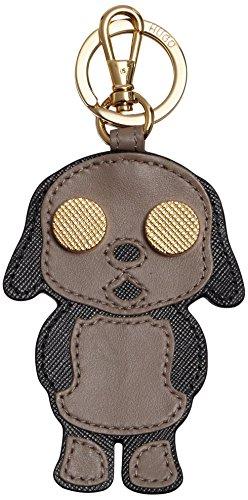 HUGO Damen Kim 10184030 01 Schlüsselanhänger, Beige (Dark Beige 251), 1x1x1 cm